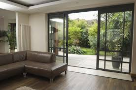 Awesome Sliding Doors Living Room Glass For A More Appealing Modern Look