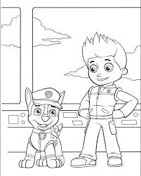 Paw Patrol Coloring Pages O Got
