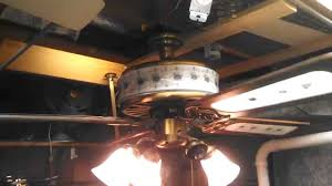 Ceiling Fans With Uplights by Quoizel Floral Ceiling Fan With Glass Lighted Housing And Glass