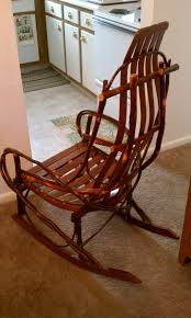 Amish Hickory Rocker   Collectors Weekly Quality Bentwood Hickory Rocker Free Shipping The Log Fniture Mountain Fnitures Newest Rocking Chair Barnwood Wooden Thing Rustic Flat Arm Amish Crafted Style Oak Chairish Twig Compare Size Willow Apninfo Amazoncom A L Co 9slat Rocker Bent Wood With Splint Woven Back Seat Feb 19 2019 Bill Al From Dutchcrafters