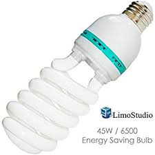 limostudio 45w photography compact fluorescent cfl daylight