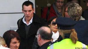 Rhys Meyers arrives for mum s funeral
