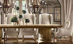 Dining Table Hardware For Extensions Modern Concept Restoration Room Chairs With Architectural Column Rectangle