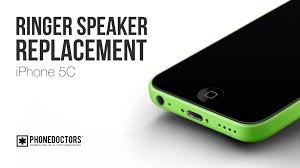 How to iPhone 5C Ringer Speaker Replacement