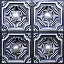 Decorative Ceiling Tiles 24x24 by Faux Tin Ceiling Tile 24x24 Glue Up Has Overlapping Edges And It