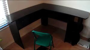 Magellan L Shaped Desk Manual by Ameriwood Home Dakota L Shaped Desk With Bookshelves Espresso