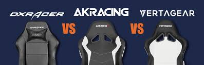 akracing vs dxracer vs vertagear who wins which one to buy