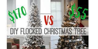 Christmas Tree Flocking Spray Can by Diy Flocked Christmas Tree U2013 Senseful Style