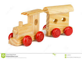 wooden toy train stock photo image 27409570