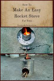 How To Make An Easy Rocket Stove For Free - Farming My Backyard Diy Guide Create Your Own Rocket Stove Survive Our Collapse Build Earthen Oven With Rocket Stove Heating Owl Works The Scribblings Of Mt Bass Rocket Science Wok Cooking The Stove Outdoors Pinterest Now With Free Shipping Across South Africa Includes Durable Carry Offgrid Cooking Mom A Prep Water Heater 2010 Video Filename To Heat Waterjpg Description Mass Heater Google Search Mass Heaters Broadminded Survival Concept 1 How Brick For Fire Roasting Tomatoes