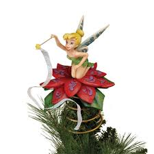 Christmas Tree Toppers Pinterest by Disney Tinkerbell Figurines Disney Traditions Tinkerbell A Touch
