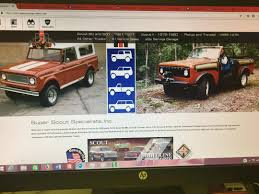 99 Vintage International Harvester Truck Parts Super Scout Specialists Inc