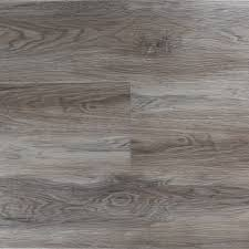 Timeless Designs Millennium XL Driftwood Grey Oak SPC Vinyl Flooring Attached Pad