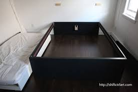 Twin Bed With Trundle Ikea by How To Build A Queen Bed With Twin Trundle Ikea Hack