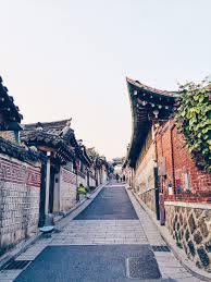 100 South Korean Houses Bukchon Hanok Village Seoul Korea Seoul Korea A
