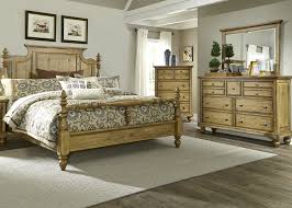 Knotty Pine Bedroom Furniture by Liberty Furniture High Country Bedroom Collection
