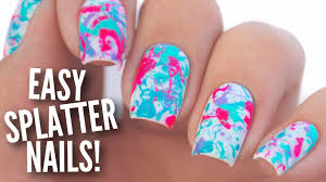 Easy Paint Splatter Nail Art Tutorial - YouTube Nails Designs In Pink Cute For Women Inexpensive Nail Easy Step By Kids And Best 2018 Simple Cute Nail Designs Acrylic Paint Nerd Art For Nerds Purdy Watch Image Photo Album Black White Art At 2017 How To Your Diy New Design Ideas Uniqe Hand Fingernails Painted 25 Tutorials Ideas On Pinterest Nails Tutorial 27 Lazy Girl That Are Actually Flowers Anna Charlotta
