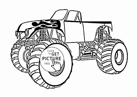 100 Monster Truck Drawing S Color Printable Coloring Pages