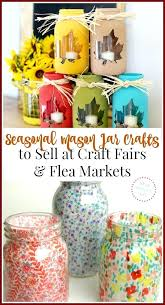 Craft Ideas To Sell Earn Extra Cash Money Hot Mason Jar Crafts Make For Home Design 1 At Farmers Markets