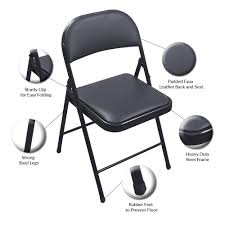 Folding Faux Leather Chair Fabric Padded Seatmolded Fan Back Folding Chair By Cosco 4400 Portable Chairs For Any Venue Clarin Seating The 7 Best Chairs Of 2019 White Resin Lel1whitegg Bizchaircom Wood Xf2901whwoodgg Foldingchairs4lesscom National Public 3200 Series Xl 2inch Vinyl 2 Taller Quad Black Lel1blackgg Deluxe Seat Flash Fniture Plastic With 21 Beach