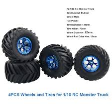 Amazon.com: Boliduo 4PCS Wheel Rim Tire Set For 1/10 RC Monster ... Shop Remote Control 4wd Triband Offroad Rock Crawler Rtr Monster 4x 32 Rc 18 Truck Wheels Tires Complete 1580mm Hex Essentials 4x 110 Stadium And Set For Wltoys 18628 118 6wd Climbing Car 5219 Free Shipping 4pcs Rubber 150mm For 17mm 4 Chrome Truck Wheels With Pre Mounted Tires 1 10 Monster Amazoncom Alluing Fourwheel Drive Military Card Strong Power Scale 6 Spoke Short Course Tyres4pc Radio Mounted 4pcs Tyre 12mm Hex Rim Wheel Hsp Hpi Traxxas Off Road Bigfoot In Toys