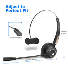 Truck Driver Headset/Bluetooth Phone Headset With Microphone,12hrs ... 14hr Working Time Bluetooth Headphones Truck Driver Yamay Wireless Headset Over The Head Handfree Office Call Center Noise Cancelling Mic Bh M10b Boom Mono Multi Point Music Headphone Hands Free With Noise Concelling For Phones Tabletin Earphones Victal Mpow Match Your Smart Life Extremerebatebluetooth V42 Canceling Headsets Drivers Amazonca Earpiece Calling