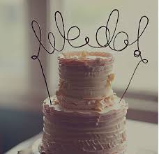 Make Your Own Cake Topper With Just Wire