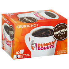 Large Pumpkin Iced Coffee Dunkin Donuts by Dunkin U0027 Donuts Original Blend Coffee K Cup Shop Single Cup