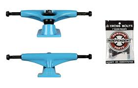 100 Lightest Skateboard Trucks Amazoncom Tensor Magnesium Blue 525 787 With