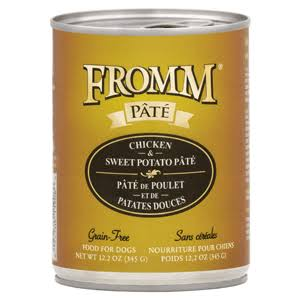 Fromm Grain Free Chicken & Sweet Potato Pate | Dog Food 12.2 oz