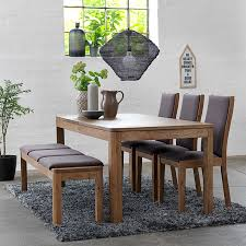 Dining Table With Bench - Visual Hunt Santa Clara Fniture Store San Jose Sunnyvale Buy Kitchen Ding Room Sets Online At Overstock Our Best Winsome White Table With Leaf Bench Fancy Fdw Set Marble Rectangular Breakfast Wood And Chair For 2brown Esf Poker Glass Wextension Scala 5ps Wenge Italian Chairs Royal Models All Latest Collections Engles Mattress Mattrses Bedroom Living Floridas Premier Baers Ashley Signature Design Coviar With Of 6 Brown