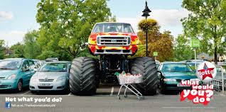 The National Lottery UK Outdoor Advert By Camelot: Monster Truck ...