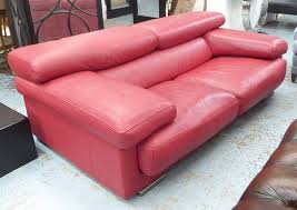 100 Roche Bobois Leather Sofa ROCHE BOBOIS ULTIMATE SOFA With Articulating Neck Rests