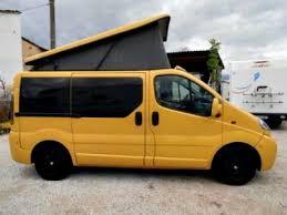 Homemade Pop Top Camper On Renault Van