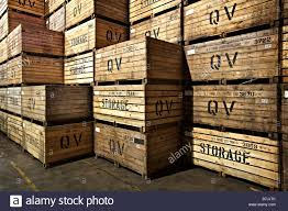 Warehouse Wooden Crates Storeroom