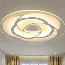 Modern Simple Square Acrylic LED Ceiling Light Living Room Bedroom Home LampFull Warm Light