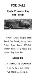 High Pressure Fog Fire Truck For Sale, 1955 - Legeros Fire Blog ... 2017 Iveco Trakker 6x6 Fire Truck Used Details Man Flips Lifted Internet Asks How Much The Drive Airport Crash Tender Wikipedia Detroit Auto Show Top Trucks Autonxt Of Wwii Vehicles Victory Llc Okosh M911 6x8 2014 Freightliner Cascadia 113 Single Axle Day Cab Tractor For Sale Militaryjeepcom Dodge R2 Crash For Sale Mounted Attenuators Dimensional Products Inc No Seriously Mahindra Is Planning Another Run At Us Market Gm Topping Ford In Pickup Truck Market Share Driving School Pittsburgh Driver Recounts