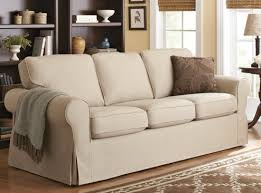 Cindy Crawford White Denim Sofa by Latest Slip Covered Sofa With Cindy Crawford Home Beachside White