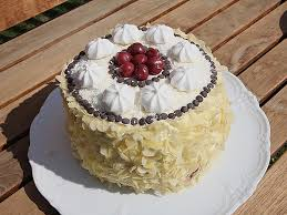 schokoladen kirsch mandel kokos sahne torte