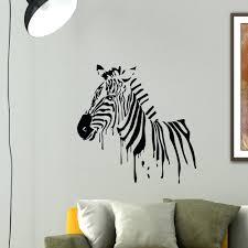 Zebra Bedroom Decor by Wall Ideas Zebra Print Wall Accessories Zoom Zebra Print Wall