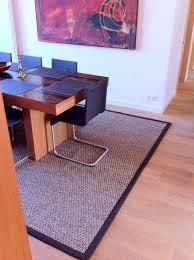 sisalteppich fürs esszimmer gembinski teppiche