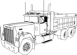 100 Truck Coloring Sheets Pages Coloringrocks
