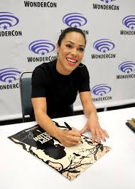 The Haunted Pumpkin Of Sleepy Hollow Soundtrack by Jessica Camacho Signs Autographs For Fans During Sleepy