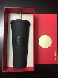 Matte Black Tumbler From Starbucks