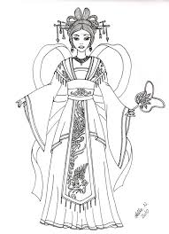 Chinese Phoenix Empress By Hellenielsen82