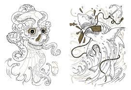 Valuable Idea The Tattoo Coloring Book Colouring Megamunden 9781780670126 Amazon