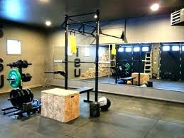 Free Garage Home Gym Ideas Pretty Solid Rogue Set Up Health And Fitness Small S With Simple