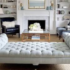 Living Room Bench by Best 25 Tufted Bench Ideas On Pinterest Diy Ottoman Diy