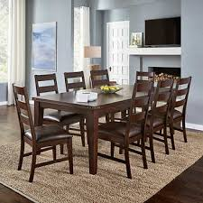 Perfect 9 Piece Dining Room Set Kitchen Furniture Costco Everett Suite Nz Counter Height Harvey Norman Ashley Modern Canada