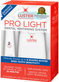 $7 00 for Luster Pro Light Teeth Whitening System fer available
